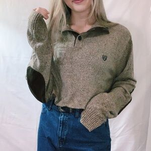 Chaps Ralph Lauren Cropped Sweater